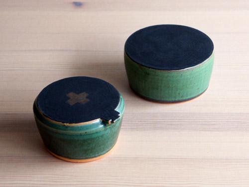 中尾さんの緑のお皿。_a0026127_187545.jpg