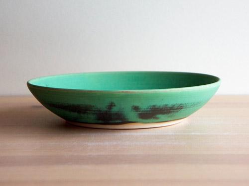 中尾さんの緑のお皿。_a0026127_20344969.jpg