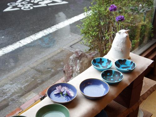 中尾さんの緑のお皿。_a0026127_20383230.jpg