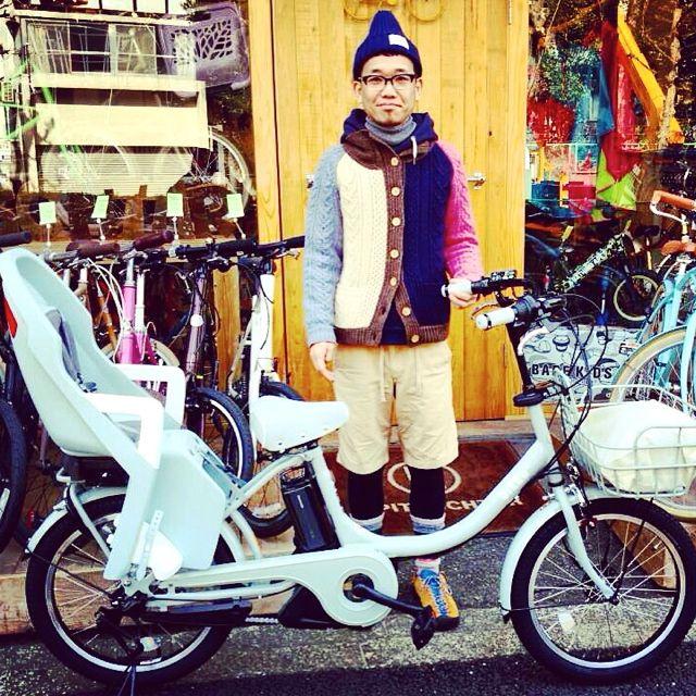リピトの『バイシクルファミリー』Yepp ビッケ2e ハイディ ステップクルーズ bikke2 ママ 自転車 mama _b0212032_20544657.jpg