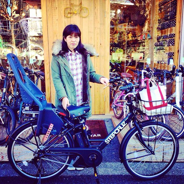 リピトの『バイシクルファミリー』Yepp ビッケ2e ハイディ ステップクルーズ bikke2 ママ 自転車 mama _b0212032_20545841.jpg