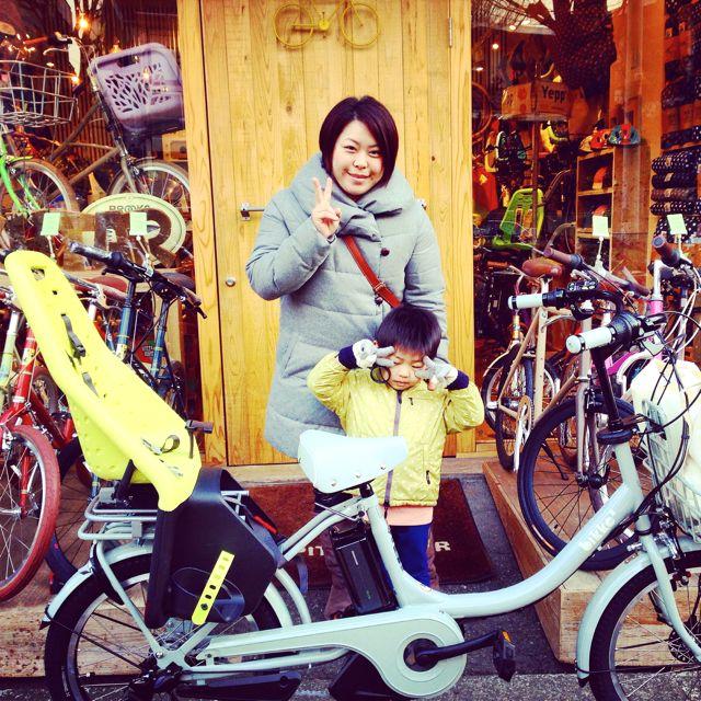 リピトの『バイシクルファミリー』Yepp ビッケ2e ハイディ ステップクルーズ bikke2 ママ 自転車 mama _b0212032_2055749.jpg
