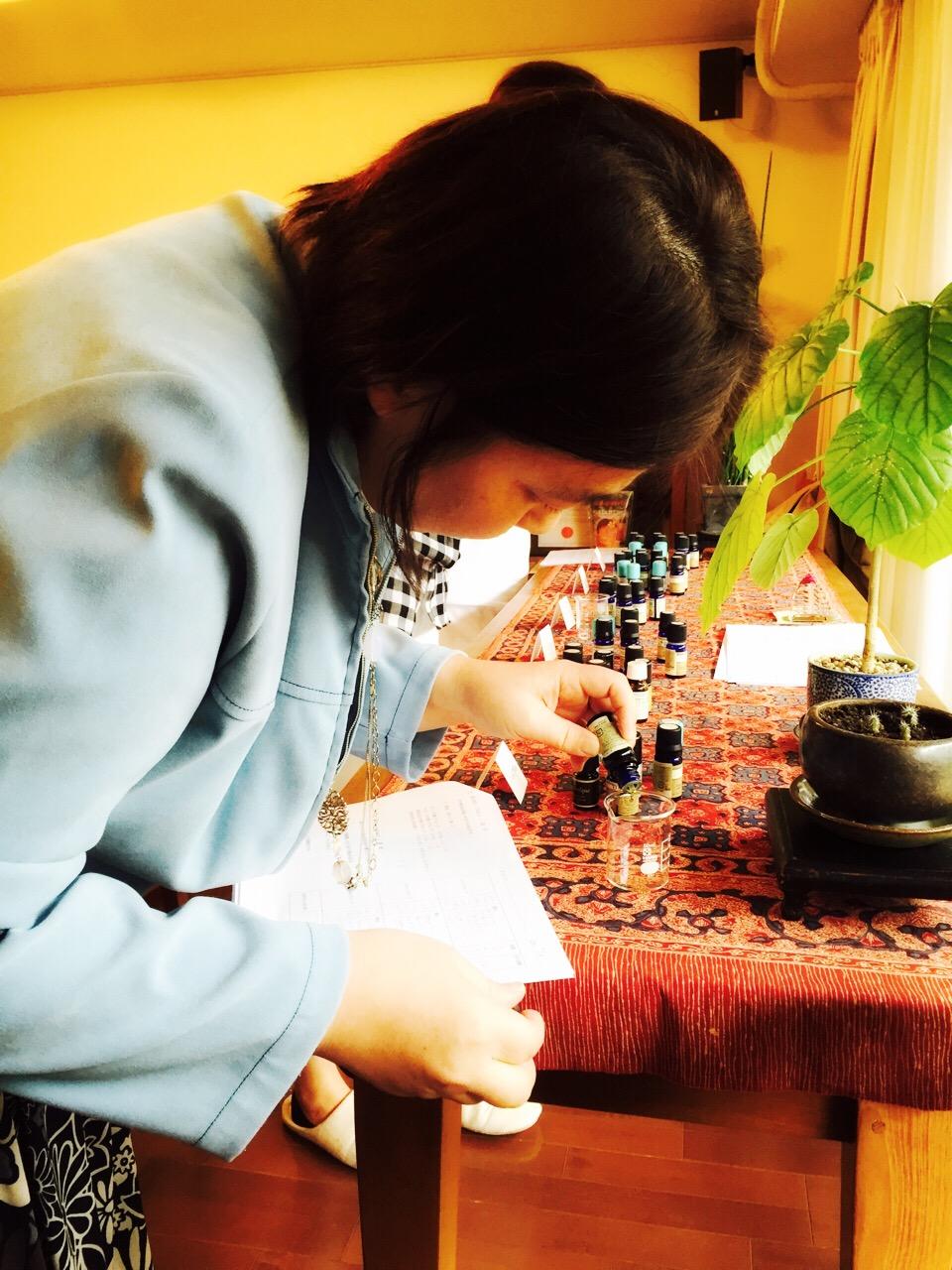 2015 春色の香水創り講座_b0168736_1564740.jpg