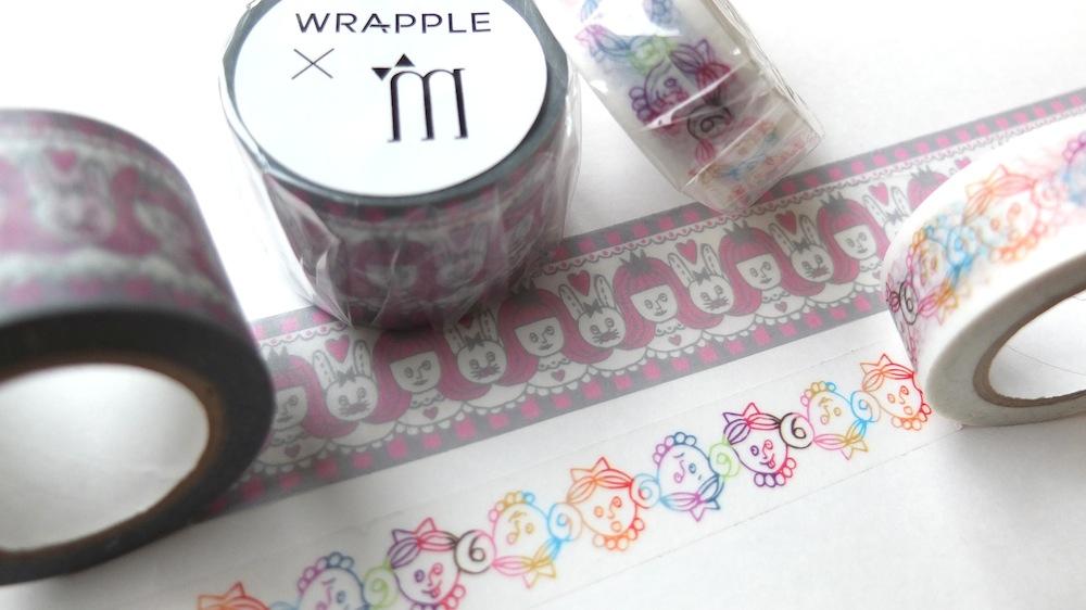 WRAPPLE×mel マスキングテープ!_e0170671_176724.jpg