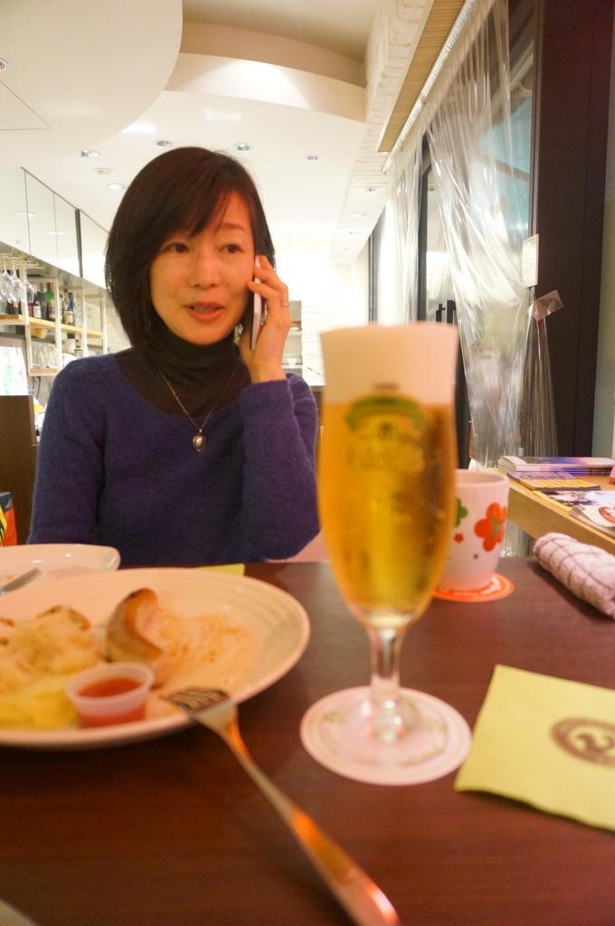 恵比寿のAMPELMANN Cafe Tokioにて。_c0180686_12135258.jpg