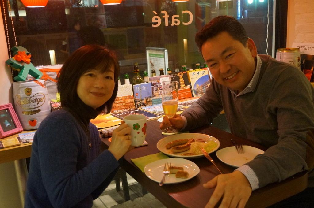 恵比寿のAMPELMANN Cafe Tokioにて。_c0180686_12142447.jpg