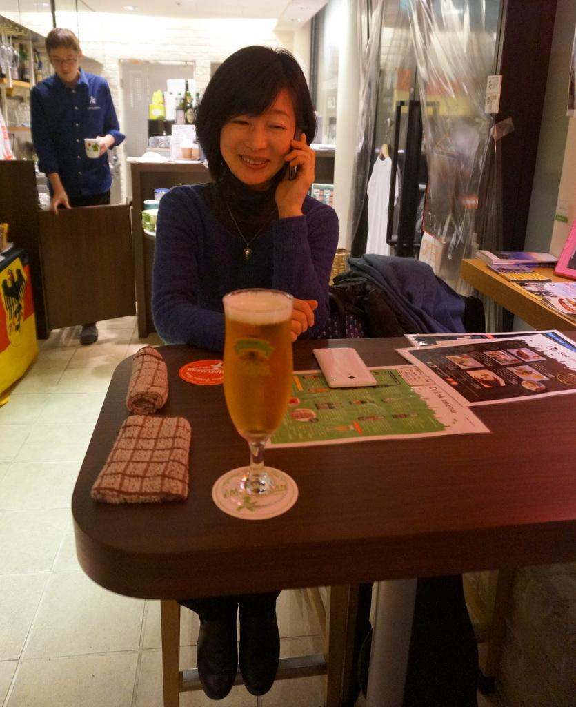 恵比寿のAMPELMANN Cafe Tokioにて。_c0180686_12150360.jpg