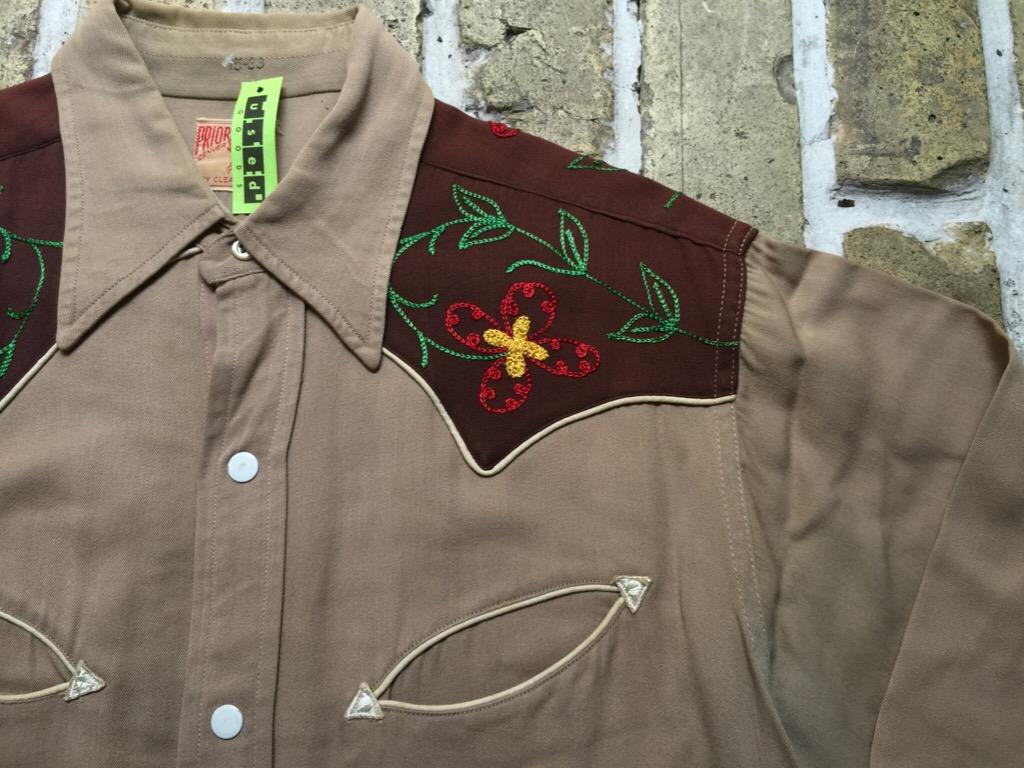 神戸店4/15(水)MidWestヴィンテージ入荷!#2 50\'s Vintage Rayon Western Shirt !!!(T.W.神戸店)_c0078587_16224532.jpg