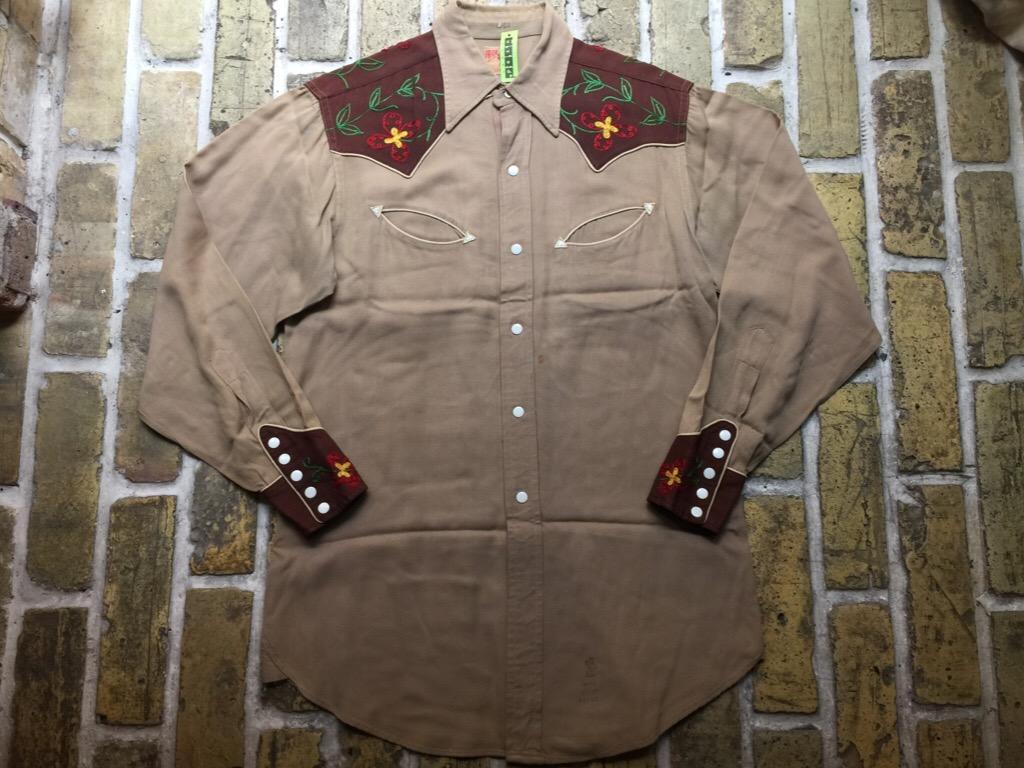 神戸店4/15(水)MidWestヴィンテージ入荷!#2 50\'s Vintage Rayon Western Shirt !!!(T.W.神戸店)_c0078587_16225235.jpg