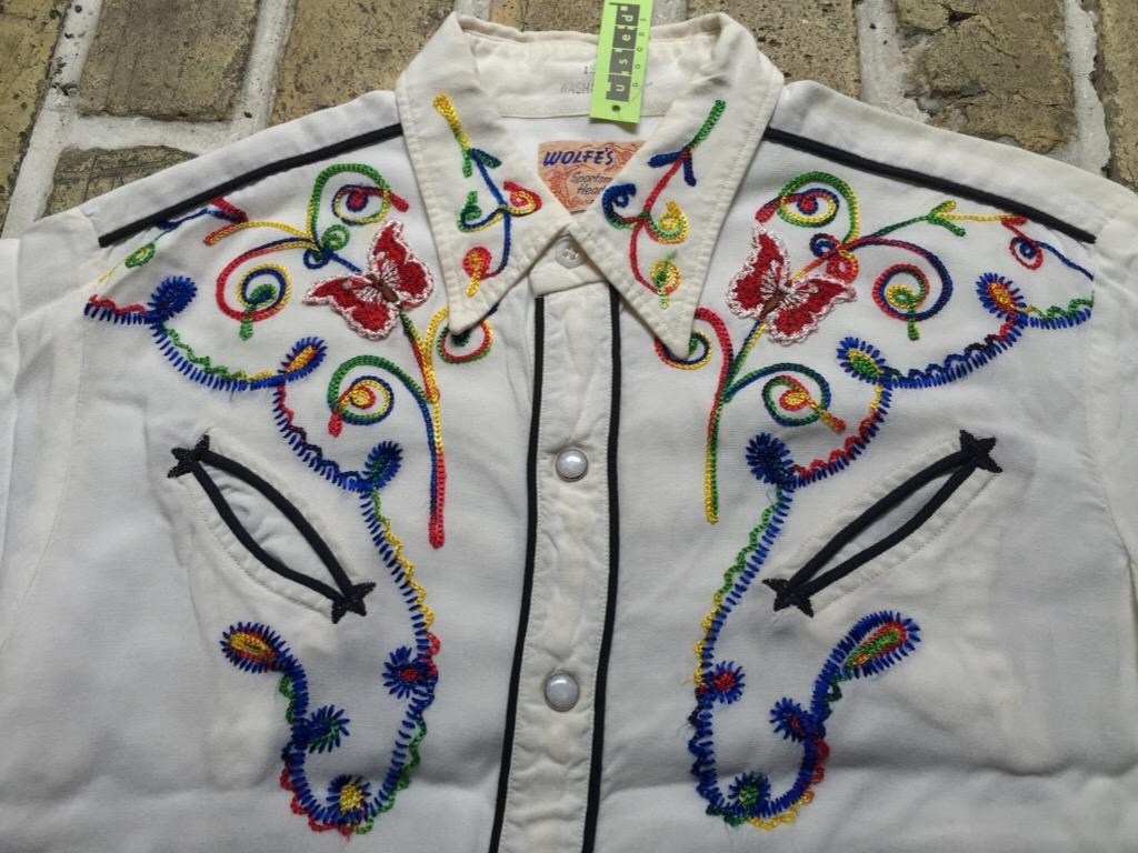 神戸店4/15(水)MidWestヴィンテージ入荷!#2 50\'s Vintage Rayon Western Shirt !!!(T.W.神戸店)_c0078587_16262839.jpg