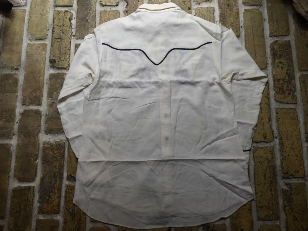 神戸店4/15(水)MidWestヴィンテージ入荷!#2 50\'s Vintage Rayon Western Shirt !!!(T.W.神戸店)_c0078587_16265017.jpg