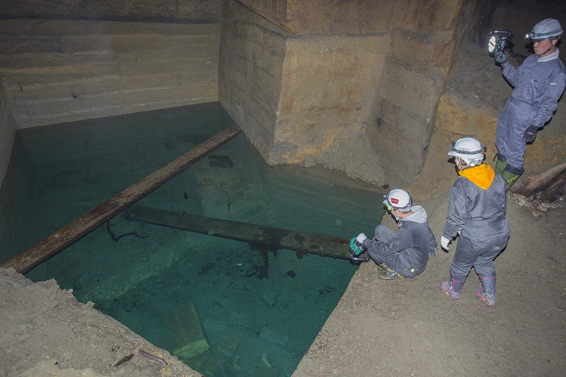 命名 チポ・・・・・Nの穴鉱山・・洞窟温泉_f0281095_114560.jpg