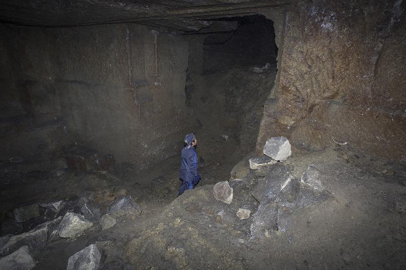 命名 チポ・・・・・Nの穴鉱山・・洞窟温泉_f0281095_185464.jpg