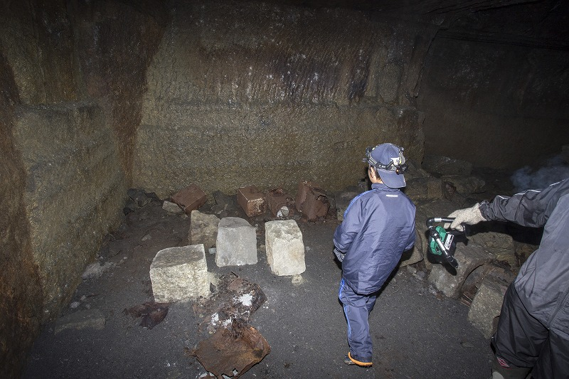 命名 チポ・・・・・Nの穴鉱山・・洞窟温泉_f0281095_185855.jpg