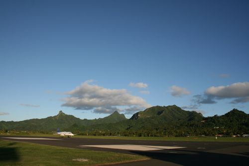旅日記 クック諸島 2012MAY その14 Air Rarotonga Aitutaki to RAR_f0059796_1622175.jpg