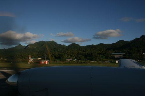旅日記 クック諸島 2012MAY その14 Air Rarotonga Aitutaki to RAR_f0059796_1622781.jpg