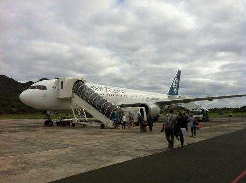 旅日記 クック諸島 2012MAY その18 さらばクック諸島 また会う日まで!! NZ061 RAR SYD _f0059796_205339.jpg