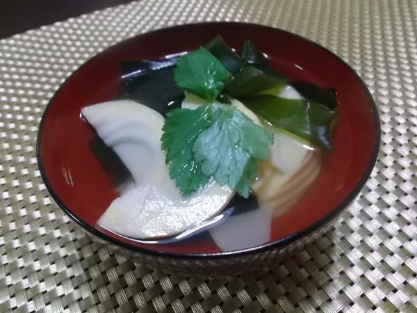たけのこご飯と若竹汁_f0019498_17185796.jpg