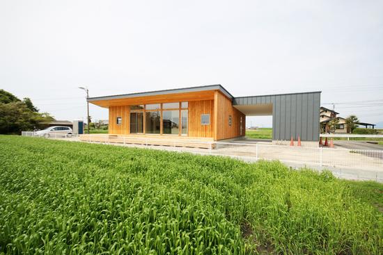 「Forest Barn FLAT+Garage/神埼の家」完成見学会でした!_e0029115_14334237.jpg