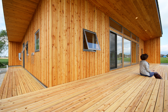 「Forest Barn FLAT+Garage/神埼の家」完成見学会でした!_e0029115_14472718.jpg