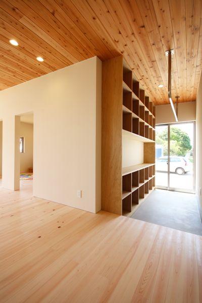 「Forest Barn FLAT+Garage/神埼の家」完成見学会でした!_e0029115_16391942.jpg