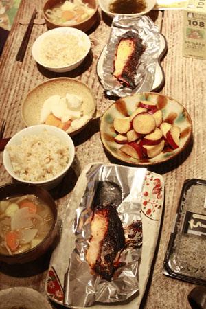 ある日の夕食_f0208315_10365815.jpg