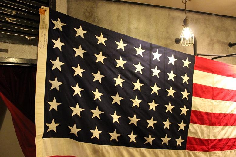 "VINTAGE \""1940s WWⅡ 48星 星条旗\"" ご紹介_f0191324_1042094.jpg"