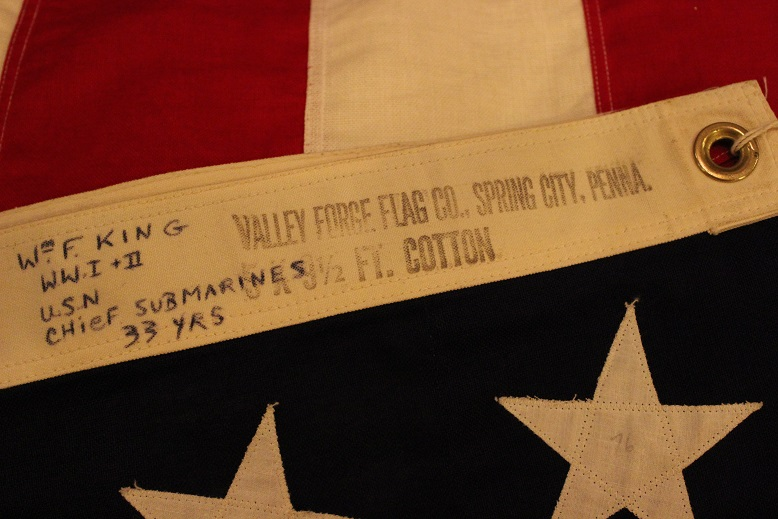 "VINTAGE \""1940s WWⅡ 48星 星条旗\"" ご紹介_f0191324_1044175.jpg"