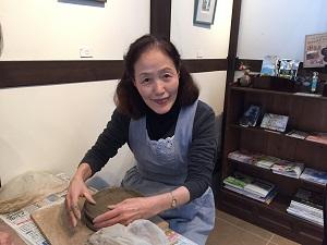 第31回 むくのき倶楽部陶芸教室_f0233340_15573824.jpg