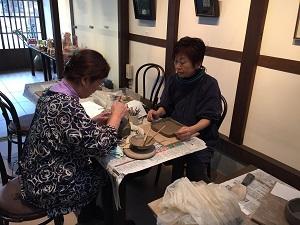 第31回 むくのき倶楽部陶芸教室_f0233340_166481.jpg