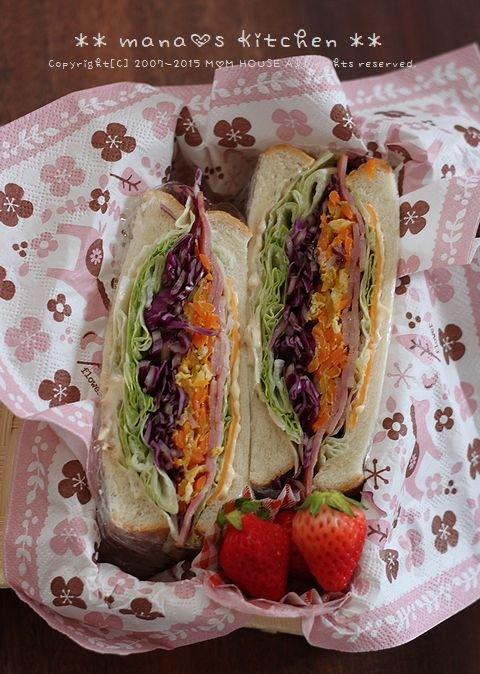 Sandwich ✿ たけのこ マイウ~( ´ )д( ` )~♪_c0139375_1037562.jpg
