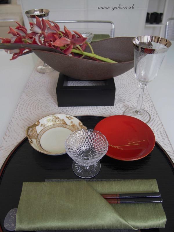 手作りテーブルランナー&ブリッジを使ったテーブルコーディネート♪_b0313387_06203434.jpg