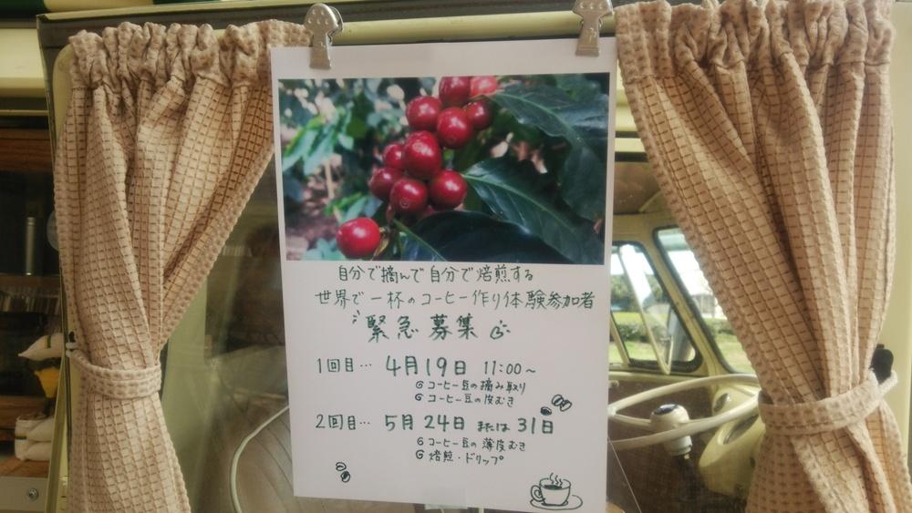 [緊急募集!]世界で1杯だけのコーヒー作り体験参加者募集中!_b0028299_1936039.jpg