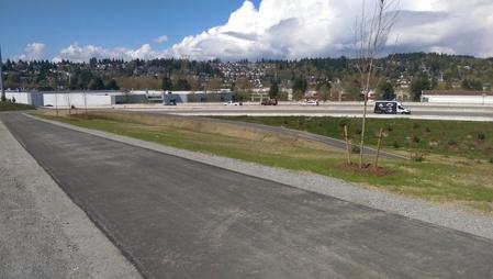 Found the Bike Access to Port Mann Bridge_a0025444_749543.jpg