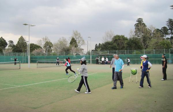 シノヅカ水曜テニスサークル、今日からスタートしました_a0151444_13312939.jpg