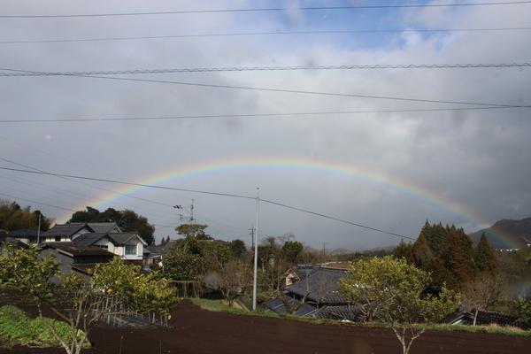 祝福の虹に..かんぱ~い♪_a0174458_0505996.jpg