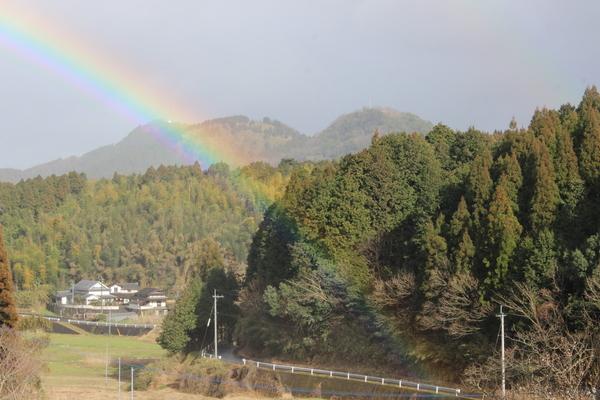 祝福の虹に..かんぱ~い♪_a0174458_116369.jpg