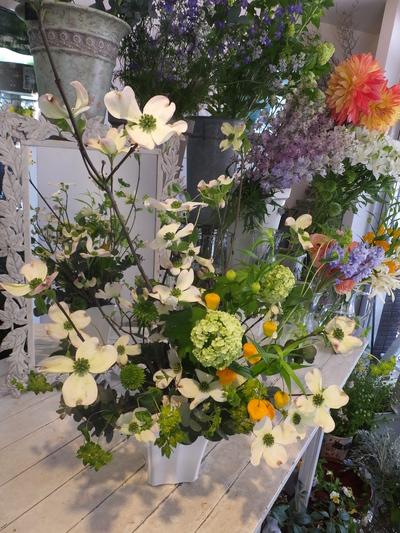 オークリーフ花の教室(甘艸さんと大草さんの作品)_f0049672_18571969.jpg