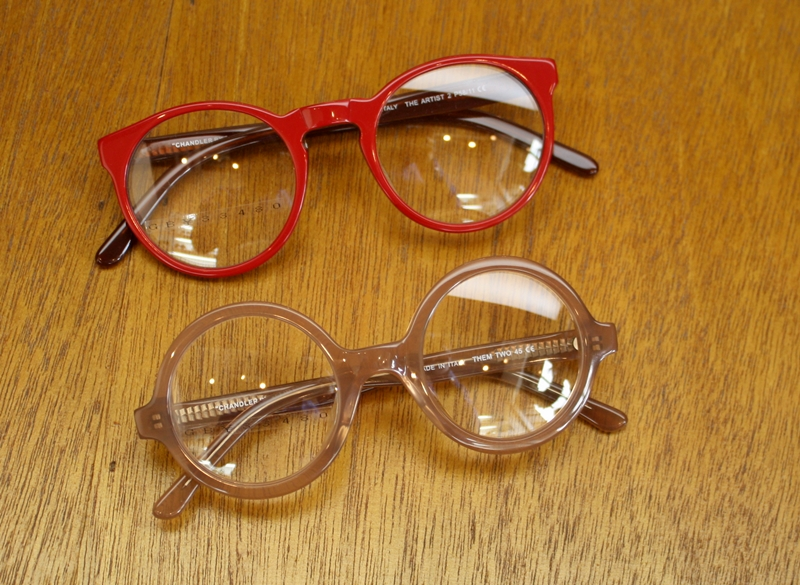 "「SELIMA OPTIQUE  THE ARTIST 2、THEM TWO""CHANDLER BY SELIMA\""」_f0208675_17272894.jpg"