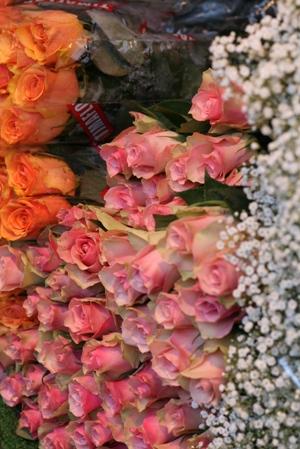 Paris 私のお気に入り ~マルシェ編~ 「マルシェのお花」_c0138180_011432.jpg