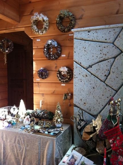 クリスマスマーケット(クラフト、寄せ植え展示販売)_c0350090_15594232.jpg