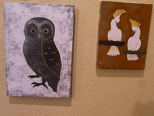 関西つうしん で、開催中の鳥展vol.5 4月20日まで、新作到着!_d0322493_150022.jpg