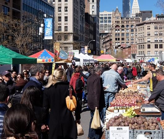 春がやってきたニューヨークの青空市場、Green Market_b0007805_22314522.jpg