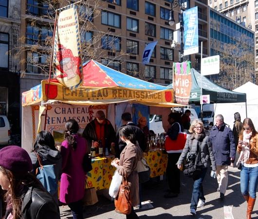 春がやってきたニューヨークの青空市場、Green Market_b0007805_2232262.jpg