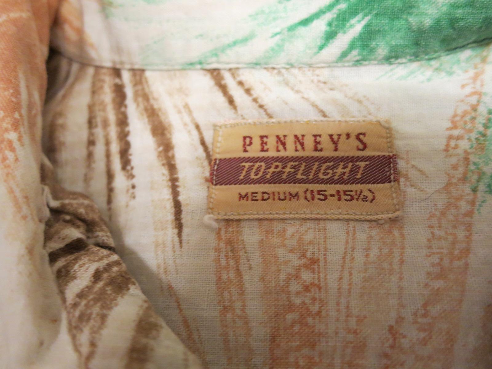 アメリカ仕入れ情報#48 50\'S Penny\'s シアサッカーシャツ!_c0144020_12302263.jpg