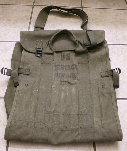 アメリカ仕入れ情報#47 50\'S U.S ARMY KIT BAG!_c0144020_3564357.jpg