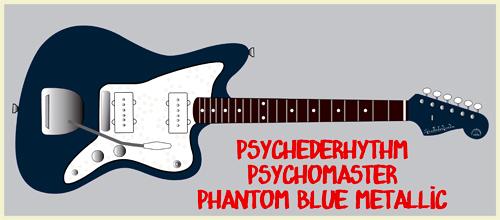「Phantom Blue MetallicのPsychomaster」を2本製作。 _e0053731_13443248.jpg