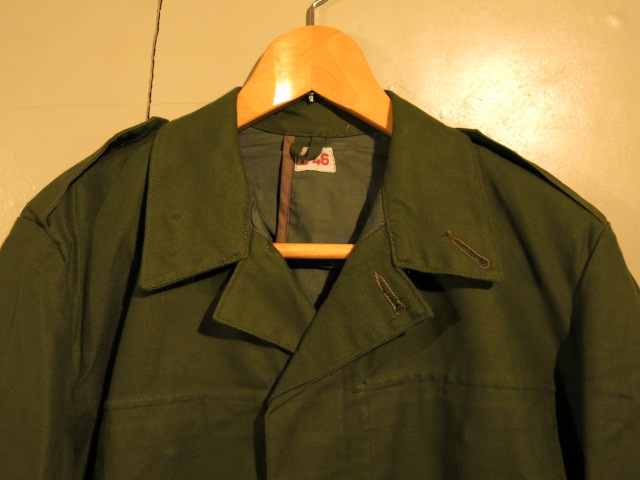"""SWEDISH WORK JACKET REMAKE OLIVE\""ってこんなこと。_c0140560_10363596.jpg"