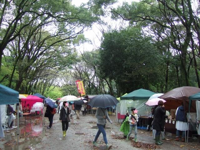 雨の京都 第15回森の手作り市_a0306166_00201214.jpg