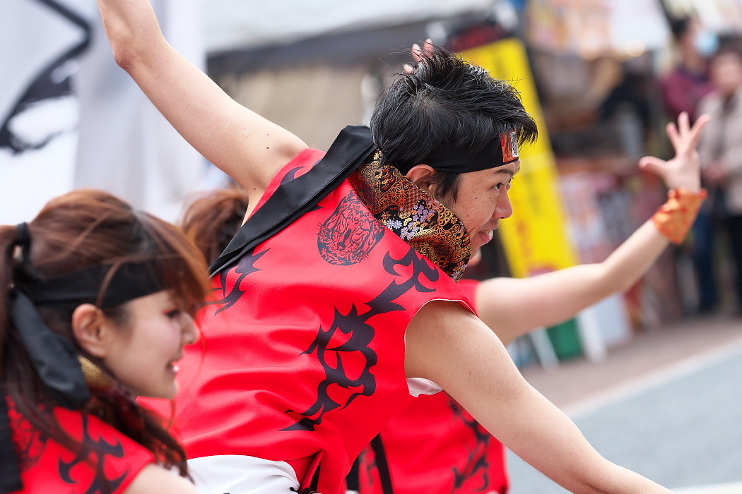 覇瞳海・ALIVE@がんこ祭(浜よさ)2015_c0187584_10355431.jpg